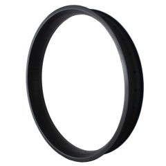 Carbon Fat Bike Rim 80mm Width Double Wall Hookless Tubeless Compatible [GTL-F80-C-26ER]