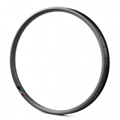 "Carbon Fiber 26"" / 26er MTB Rim 25mm Width Clincher Hooked Tubeless Compatible Mountain Bike [GTL-M25-C-26er]"