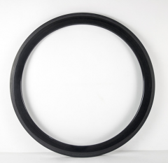 50mm Deep Carbon 700C 23mm Wide Road Rim Clincher With/no Basalt Braking Surface [GTL-R50CF-C23]