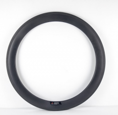60mm Deep Carbon 700C 23mm Wide Road Rim Clincher With/no Basalt Braking Surface [GTL-R60CF-C23]