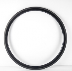 38mm Deep Carbon 700C 25mm Wide U Shape Road Rim Clincher With/no Basalt Braking Surface [GTL-R38CF-C25]