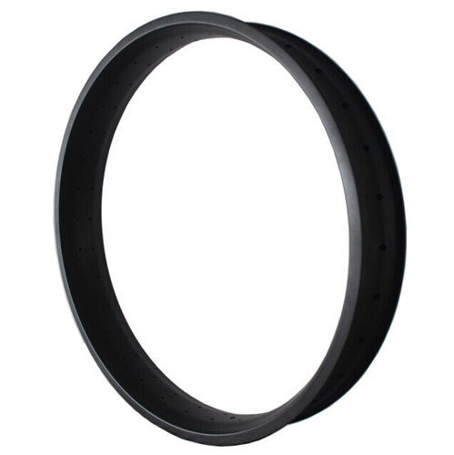 Carbon Fat Bike Rim 100mm Width Double Wall Hookless Tubeless Compatible [GTL-F100-C-26ER]