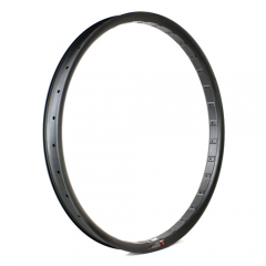 Carbon Semi-Fat 27.5+ Rim 50mm Wall Hookless Tubeless Compatible [GTL-F50-C-650B]