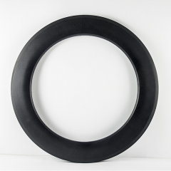88mm Deep Carbon 700C 23mm Wide Road Rim Clincher With/no Basalt Braking Surface [GTL-R88CF-C23]
