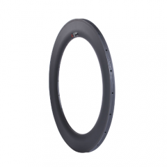 Wider U Shape Carbon Road Bike 88mm Depth Rim Tubular 700C with/no Basalt  Braking Surface [GTL-R88CF-T25]